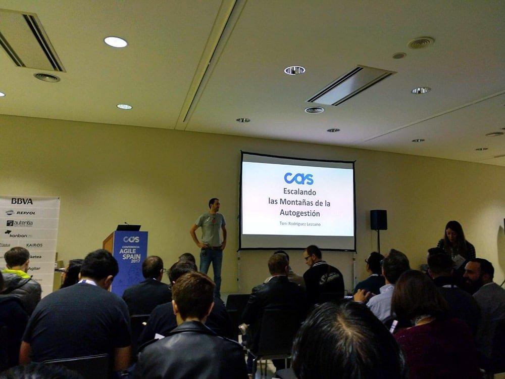 Sesión Técnicas Ágiles de Desarrollo - CAS 2017
