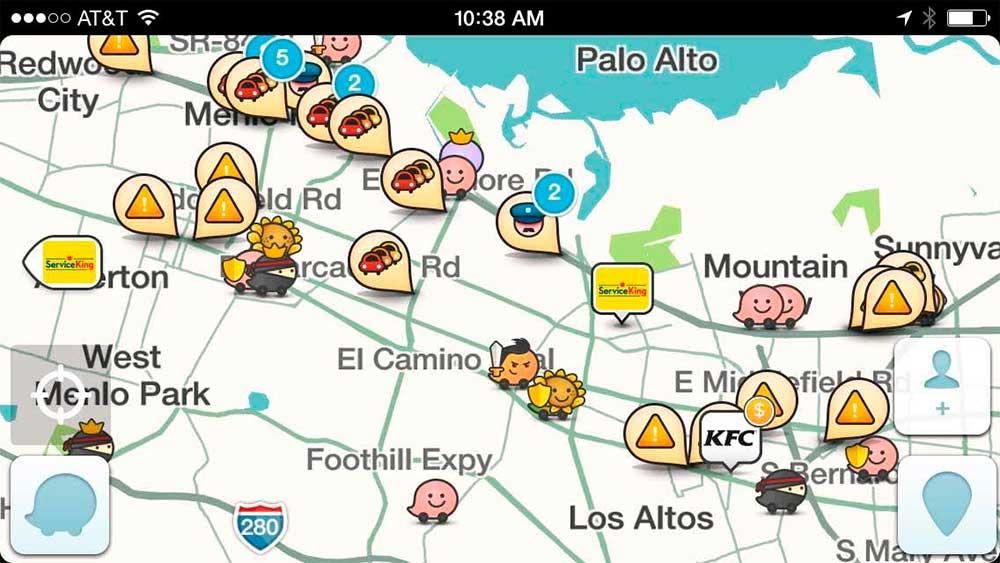 App Waze Tráfico