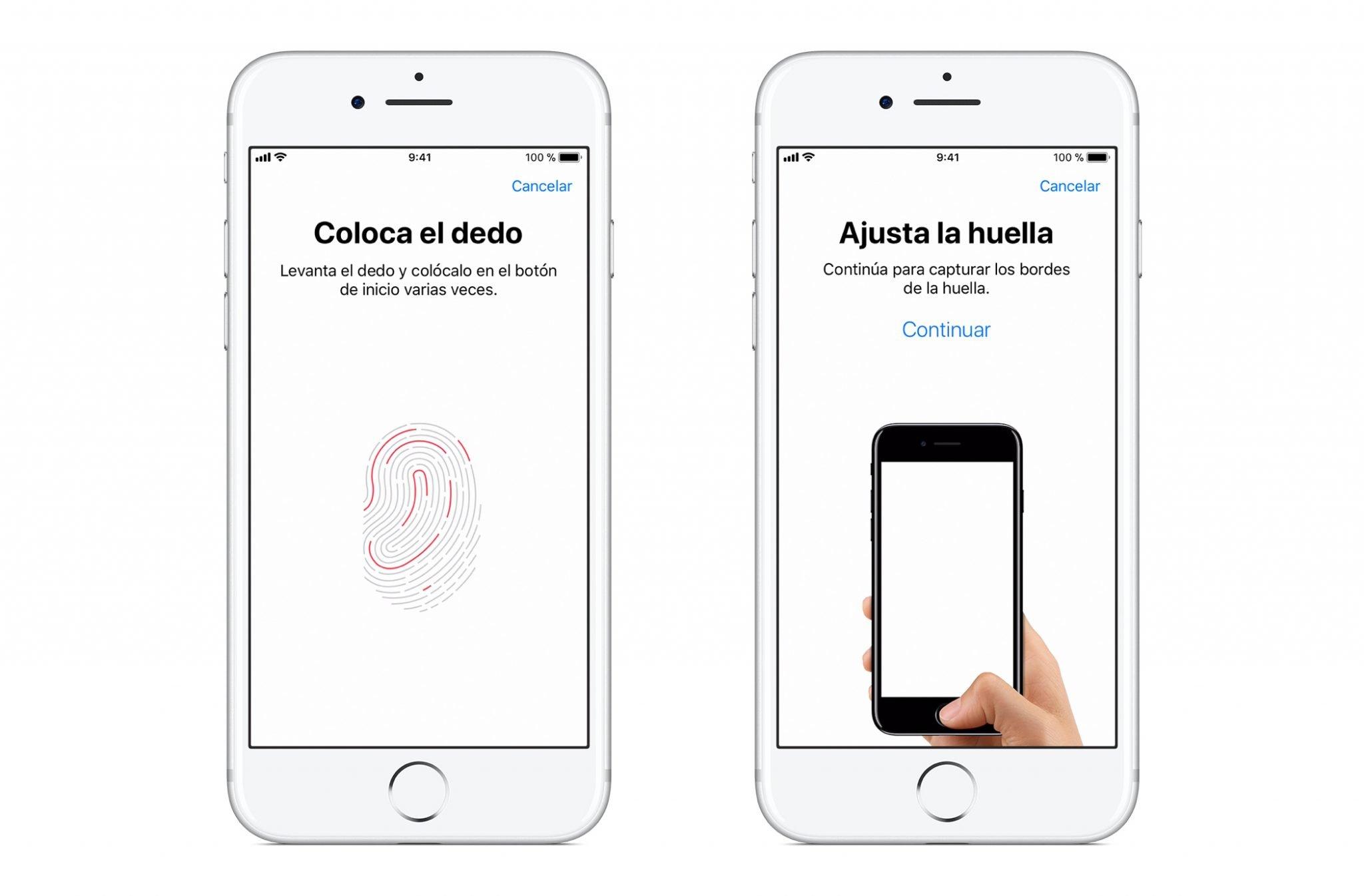 Autenticación con Huella Dactilar en iOS